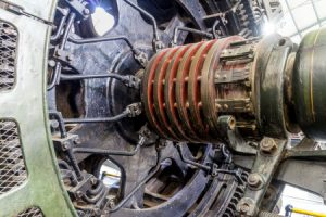Großer Gleichstrommotor