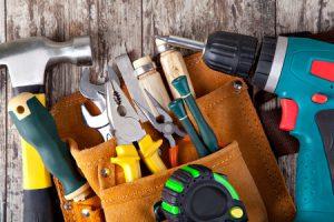 Viel Werkzeug