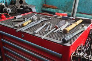 Schleifringläufermotoren mit Werkzeugen